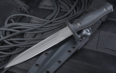 Spartan Blades Les George V14 Dagger - Black on Black