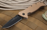 Emerson SPECWAR-A-BT Tan Limited Edition Black and Tan Clip Point