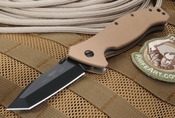 Emerson SPECWAR B BT Tan Limited Edition Black and Tan Tanto