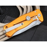 Lion Steel SR-2G  Blasted Titanium Folding Knife