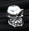 Starlingear Bullet Tooth Sterling Silver Bead