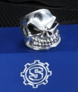 Starlingear Slickster Puncher Ring - Size 11 - Sterling Silver -SOLD