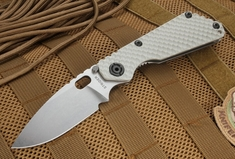 Strider Arctic Grey SNG GG Tactical Folding Knife