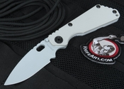Exclusive Strider Knives SNG Arctic Gray Tactical Folding Knife