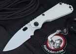 Exclusive Strider SNG CC Arctic Gray Edition Folding Knife