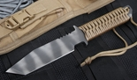 Strider BT Coyote Tan Tactical Fixed Blade Knife