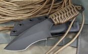 Strider EB/DB Coyote Tan and Black Blade Tactical Fixed Blade - SOLD