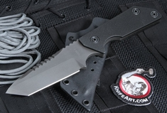 Strider EBL T SS Black on Black Fixed Blade Knife