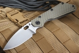 Strider SMF GG Ranger Green Tactical Folding Knife CPM-154
