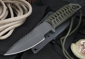 Strider HT-S Ranger Green  and Black Tactical Fixed Blade Knife