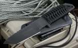 Strider HT-T Black Tactial Fixed Blade Knife - SOLD