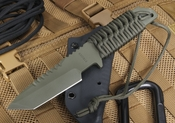 Strider HT-T Ranger Green Cerakote Tactical Fixed Blade Knife
