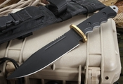 Strider Knives BR Black Tactical Fixed Blade Knife