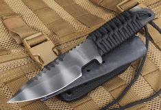 Strider Knives HT-S Black Tactical Fixed Blade Knife
