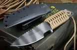 Strider Knives HT-S Tan Tactical Fixed Blade Knife - SOLD