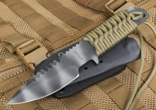 Strider Knives HT-S Tan Tactical Fixed Blade Knife