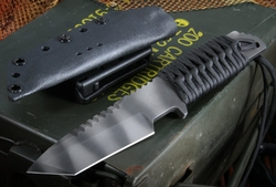 Strider Knives HT-T Black Tactical Fixed Blade Knife - SOLD