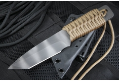 Strider Knives Model WP-T Tanto Tactical Fixed Blade Knife - Tan - SOLD