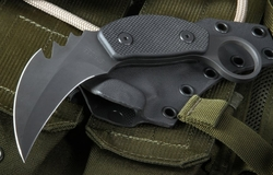 Strider Knives PS Black Karambit Fixed Blade Knife