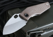 Strider Knives SJ75 Coyote Tan Tactical Folding Knife