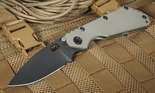 Strider Knives SMF Ranger Green and Black Tactial Folding Knife