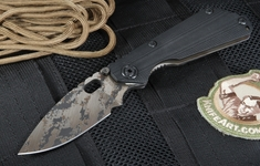 Strider Knives SNG CC Black Digicam Folding Knife - OUT OF STOCK