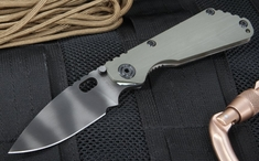 Strider Knives SNG CC Ranger Green Tiger Stripes Folding Knife - OUT OF STOCK
