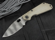 Strider Knives SNG HYBRID CC and Flat Ranger Green Tiger Stripes Folding Knife