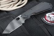 Strider Knives SNG CC Tanto Black Tactical Folding Knife