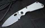 Exclusive Strider Knives SNG Arctic Grey Folding Knife