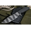 Strider MD Gunner Grip Tiger Stripe Tactical Fixed Blade - SOLD