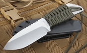 Strider MFS Ranger Green  and Stone Washed Fixed Blade
