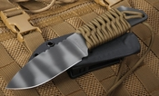 Strider MFS Coyote Tan and Tiger Stripes Fixed Blade