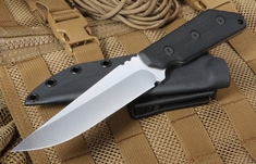 Strider Knives MK1-C Black CC Fixed Blade
