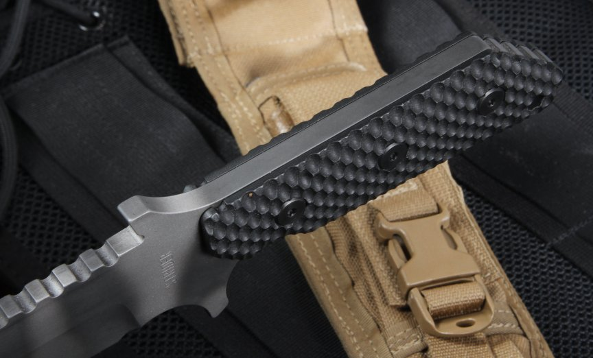 Strider MK1 Mod 10 GG Tanto Black  and Tiger Stripes - OUT OF STOCK
