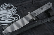 Strider MT GG Black Tactical Fixed Blade Knife