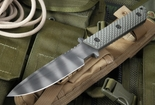 Strider MT GG Ranger Green Gunner Grip Tactical Fixed Blade Knife