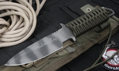 Strider MT-MOD-10 Ranger Green Sniper Chuck Mawhinney Tactical Fixed Blade