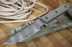Strider MT-SS-GG Ranger Green Tactical Fixed Blade