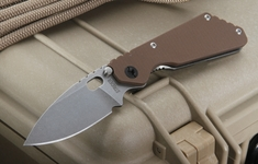 Strider PT Brown G10 Tactical Folding Knife - SOLD
