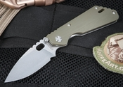 Strider PT CC Green Tactical Folding Knife