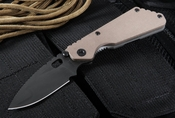 Strider PT Coyote Tan Blasted and Black Blade Tactical Folding Knife - SOLD
