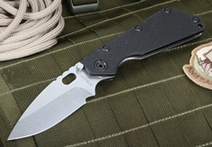 Strider SMF 3/4 Hollow Grinds Tactical Folding Knife