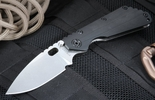 Strider SMF CC Black Tactical Folding Knife