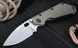 Strider SMF CC Ranger Green Tactical Folding Knife