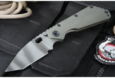 Strider SMF CC T Ranger Green Tiger Stripe Tactical Folding Knife -SOLD