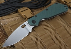 Strider SMF Forest Green Tactical Folding Knife