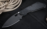Strider SMF GG Black on Black Folding Knife