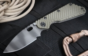 Strider SMF GG Green Tactical Folding Knife