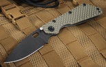 Strider SMF GG Ranger Green and Black Folding Knife